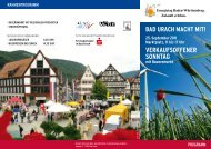 verkaufsoffener sonntag - KlimaschutzAgentur Landkreis Reutlingen