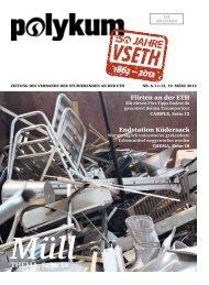 Müll THEMA, Seite 18 - VSETH - ETH Zürich