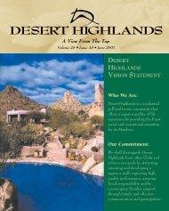 SUMMER WINE - Desert Highlands