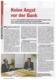 Keine Angst vor der Bank 1 - Raiffeisenbank Westeifel eG