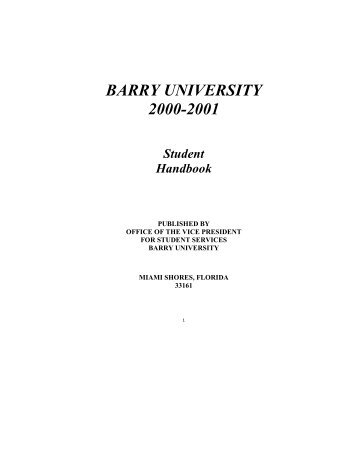 Dr. Lin's Instructional Web - Barry University