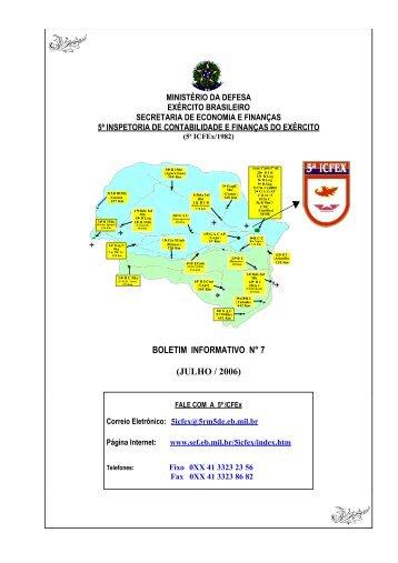 BInfo - 07 - 5ª ICFEx - Exército Brasileiro