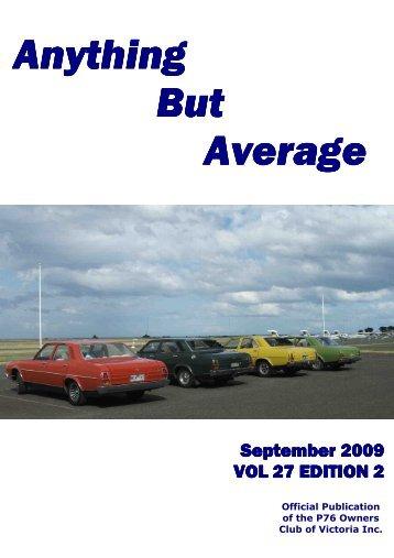 Sept 09 - Leyland P76 Club of Victoria