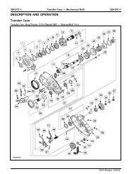 Genuine Chrysler 4338763 Transmission Transfer Case Lever