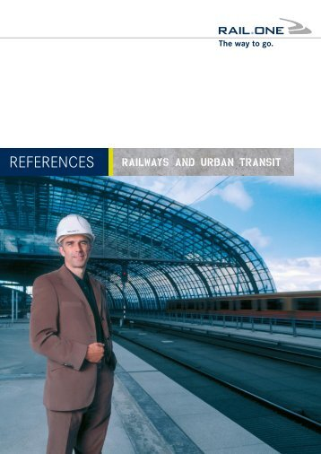 List of reference projects - RAIL.ONE GmbH