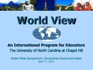 Global Learning - Sister Cities Association of Wilmington