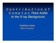 Contributionof Compton Thick AGNs - HEASARC
