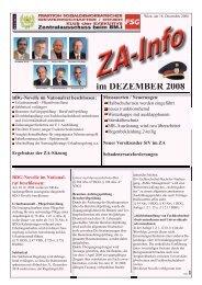 im DEZEMBER 2008 - FSG
