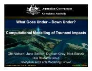 Computational Modelling of Tsunami Impacts - Seegrid.csiro.au