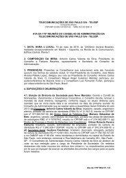 ATA DA 56ª REUNIÃO DO CONSELHO DE ADMINISTRAÇÃO DA ...