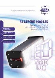 RT STROBE 5000 LED - RHEINTACHO Messtechnik GmbH