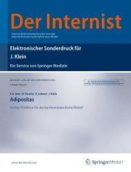 Adipositas Valider Prädiktor für das ... - adipo-site.de