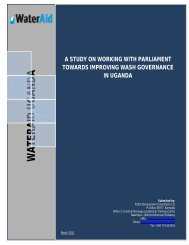 Equity and inclusion analysis of the water, sanitation and ... - WaterAid