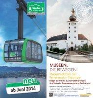 Folder Museen Traunsee - Salzkammergut