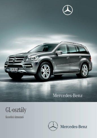 Mercedes-Benz GL-osztály kezelési útmutató letöltése (PDF)