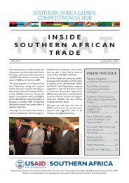 insat inside southern african trade - MCLI