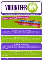 Youth Opportunities Template - omagh - Volunteer Now