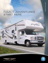 2008 Jayco Greyhawk Brochure PDF with Floorplans and Specs