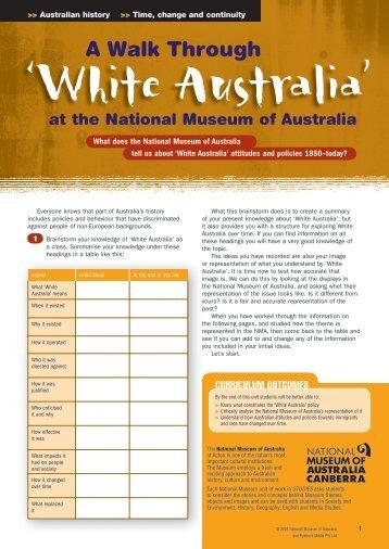 A Walk Through 'White Australia' at the National Museum of Australia