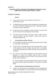 Residential Site Licence App I , item 25. PDF 66 KB - Epping Forest ...