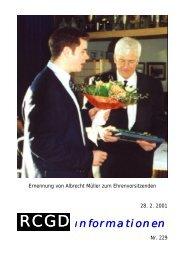 Rückblick - Nikolaus 2000 - RCGD
