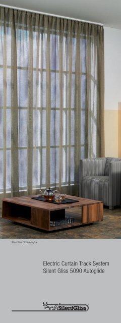 Silent Gliss 5090 Brochure - Curtain Poles