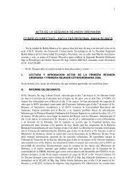 Acta - FRBB - UTN - Universidad Tecnológica Nacional