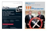 111 Jahre Festzeitung - Raiffeisenbank eG, Leezen