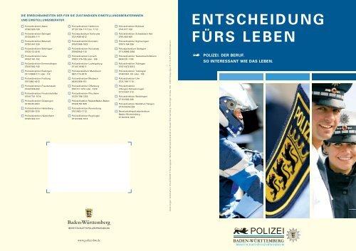 Einstellungsoffensive Bei Der Polizei Baden Wurttemberg De