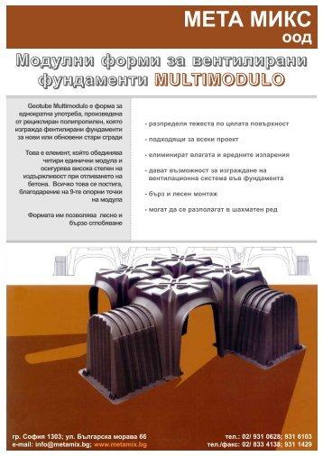 консумация на бетон - Професионален кофраж Мета Микс ООД