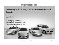 Competing in the Luxury Auto Market in the - Dr. Rajeev Dhawan
