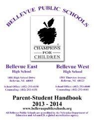 2013-14 High School Handbook - Bellevue Public Schools