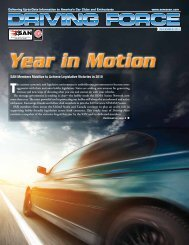 Driving Force - SEMA Action Network