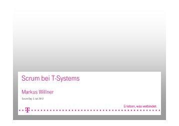 Scrum bei T-Systems - Scrum Day
