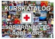 KURSKATALOG - Røde Kors