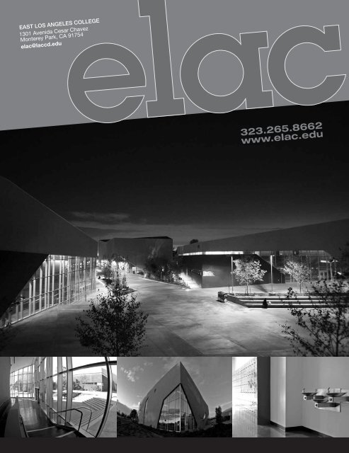 The 2011 - 2013 General Catalog - East Los Angeles College