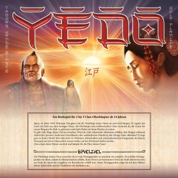 Yedo - Anleitung - Pegasus Spiele