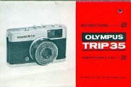 Olympus Trip 35 Instruction Manual