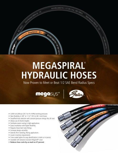 MEGASPIRAL® HYDRAULIC HOSES - Gates Corporation