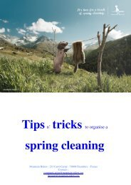 spring cleaning - Mountain Riders