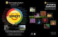 SPOT Software Brochure - SPOT Imaging Solutions