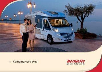 Camping-cars 2012 - Dethleffs