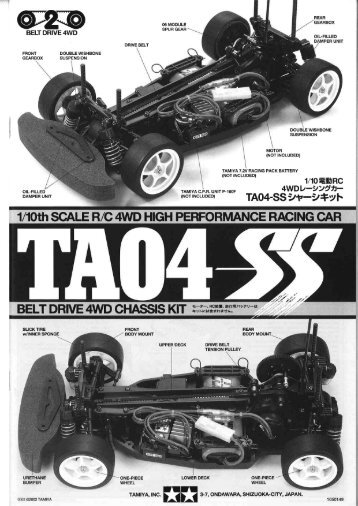 Tamiya TA04-SS Manual - RCtube.eu
