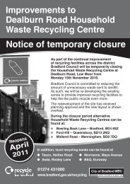 Improvements to Dealburn Road Household Waste Recycling ...