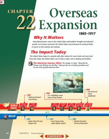 Chapter 22: Overseas Expansion, 1865-1917