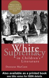 White Supremacy in Children's Literature ... - Vidya Online