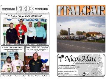 Anno 08 - Numero 20 - del 02 Marzo 2007 - CRIB