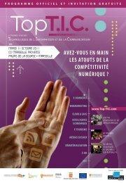 TOP TIC Invitation - EVITA