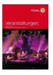 Top Veranstaltungskalender - Switzerland Tourism