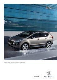 3008 Technical Details & Specs - West Car Sales Bundaberg